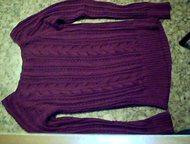 продам легкий свитер 40-42 размер ; с дырочками ( полупрозрачный) ; новый ; малиновый цвет, Альметьевск - Женская одежда