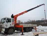 Услуги КМУ Hyundai HD 250 с грузоподъемностью 10 тонн на 7 тонн Оказываю услуги на кран-манипуляторе Hyundai HD 250. Грузоподъемность крановой установ, Челябинск - Самопогрузчик (кран-манипулятор)