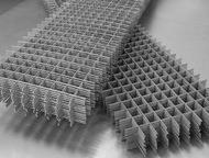 Сварные сетки реализуем сетки сварные в картах и рулонах. Используются в стяжке пола и стен. Так же можно использовать как заборную сетку . Размеры ра, Егорьевск - Строительные материалы
