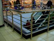Екатеринбург: Ограждения из нержавеющей стали/нержавейки Ограждения, перила, поручни для входных групп, крылец, пандусов с дополнительным поручнем для инвалидов, а