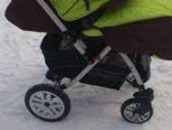 Хабаровск: продам коляску б/у - это зимняя прогулочная коляска, предназначения для детей с 6 месяцев и примерно до 3-х лет (до 18 кг).   Детскую коляску Jetem Ca