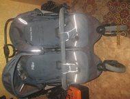 Хабаровск: продам коляску для двойни или погодок Коляска Mobility One ExspressDuo -складывается книжкой. 3 положения спинки. б. у