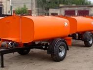 Поливомоечное оборудование Полуприцеп бочка можно цеплять к любому трактору или самоходному шасси, но передвигаться при этом не более 25 км/час.  Благ, Ижевск - Цистерна промышленная