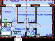 Ижевск: продам 2 к, кв на ул 9 подлесная ЖК Алиса 6 Продам 2 к. кв ЖК Алиса 6 в новом доме с развитой инфраструктурой на 2 этаже 6 этажного дома, площадью 48
