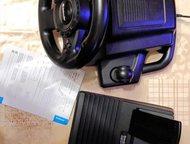 Руль drift forsage Руль, подключаемый к компьютеру. Есть функция вибрация. б/у. Состояние: отличное.   Есть педали (газ, тормоз), рычаг (переключение , Кемерово - Развлечения и досуг - разное