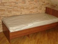 Кровати односпальные Изготавливаем и продаем кровати, шкафы, тумбы прикроватные для, гостиниц, хостелов, дома, баз отдыха и. т. д. (Кровати, крепкие, , Краснодар - Мебель для спальни