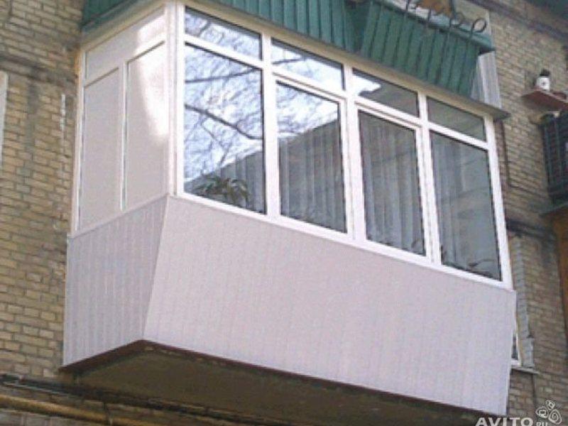 Балконы и лоджии обшивка, остекление, утепление, Чебоксары, .