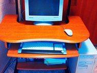 Стол компьютерный Продам стол компьютерный, б/у, в очень хорошем состоянии., Красноярск - Столы, кресла, стулья