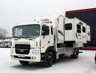 Автономный жилой модуль на базе Hyundai Gold Грузоподъёмность: 8 500 кг.   Тип: Бортовой грузовик  Привод: 4x2  Трансмиссия: Механическая  Топливо: Ди, Красноярск - Грузовики (грузовые автомобили)