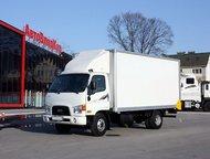 Hyundai HD78 грузовой фургон 2014г, 3,8т. Промтоварный фургон Hyundai HD78 (E-Mighty)  Год выпуска: 2014   Местонахождение: Владивосток (склад АвтоВла, Красноярск - Грузовики (грузовые автомобили)