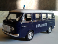 полицейские машины мира №2 Fiat 238 carabinieri 1967,полиция Италии. Цвет:фиолетовый, сделан из металла и пластика, масштаб:1:43, модель в блистере, с, Липецк - Коллекционирование