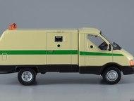 Липецк: автомобиль на службе №14 Ратник Газ-3302 Инкассация цвет:бежевый, масштаб:1:43, сделан из металла и пластика, модель в блистере, с журналом