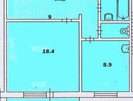 Красноярск: 1 комнатная в Советском районе Просторная, солнечная, квартира с квадратным залом, большой коридор ( можно сделать гардеробную комнату), новый дом (сд