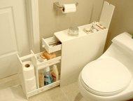 Узкие комоды для туалета, оптом и в розницу Узкий комод для туалета, позволит вам хранить средства гигиены под рукой в самый ответственный момент.    , Москва - Мебель для ванной