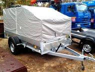Трейлер 829450 (3, 2х1, 4) для перевозки снегохода Оцинкованный прицеп Трейлер 829450 (3. 2х1. 4) для перевозки снегохода, квадроцикла.   Размеры, 320, Москва - Прицепы для легковых автомобилей