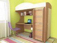 Кровать детская (3-12 лет) Облачко 1 Мы производим мебель для детей 3-12 лет, в том числе модульную и с фотопечатью. Комплект Облачко 1 состоит из: кр, Москва - Детская мебель