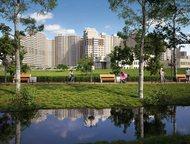 2-комнатная квартира в Подмосковье Продается без посредников, 2-комнатная квартира в Одинцово, в новом жилом микрорайоне «Одинбург». Площадь квартиры:, Москва - Купить новостройку