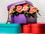 Подарочная упаковка, тубусы, кубы, сердца, Краснодар Мы изготавливаем шляпные, круглые коробки, квадратны коробки, пакеты, коробки в виде сердца, прям, Москва - Одежда и обувь, аксессуары - разное