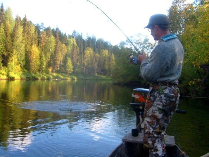 видео рыбалка в коми