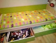 Продам детскую мебель Продам кровать, шкаф пенал., Находка - Мебель для детей