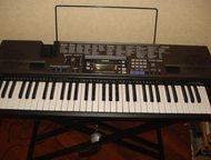 Синтезатор Casio CTK-720 Продам синтезатор Casio CTK-720 вместе с подставкой. Цена 8000. Обучающий, USB, 100 ритмов, 242 тона, 61 клавиша, 100 различн, Нефтеюганск - Аудиотехника