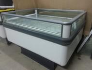 Две витрины для продажи и хранения Продам б/у витрину ARNEG комбинированную низкотемпературную островную в отличном состоянии.   Длина 135 см. , ширин, Нижнекамск - Холодильники