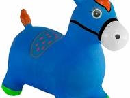 Нижневартовск: Надувная лошадка лошадь-прыгунок kid-hop (кид хоп) синяя - это мечта любого ребенка, ведь она такая яркая, эффектная, красочная и необычная.     особе