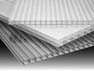 Прозрачный сотовый поликарбонат Прозрачный сотовый поликарбонат толщиной 4мм — это наиболее популярный материал, используемый для различных целей в ст, Нижний Новгород - Строительные материалы
