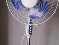 продажа Вентилятор напольный, напряжение 220 В, частота 50 ГЦ, мощность 50 ВТ, 4 режима, Нижний Тагил - Кондиционеры и обогреватели