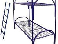 Одноярусные металлические кровати Представляем продукцию компании Металл-кровати:  - кровати металлические с деревянными спинками (для санаториев, инт, Новосибирск - Мебель для спальни