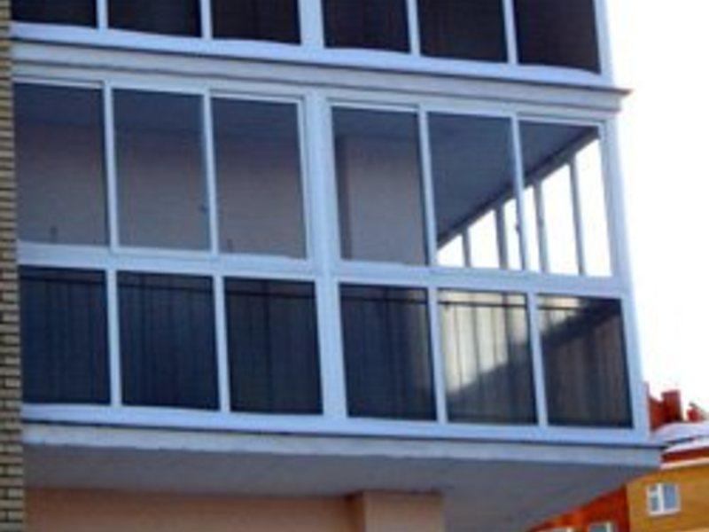 Панорамное остекление домов, лоджий, балконов бу товары для .