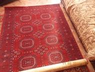 Шерстяной ковер Продам натуральный шерстяной ковер со стены, в отличном состоянии. Размер: 2, 60Х1, 60  Торг!, Оренбург - Ковры, ковровые покрытия