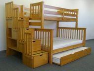 Мебель из натурального массива дерева Мебель и предметы интерьера из натурального экологически чистого массива дерева.   От комнатной мебели, предмето, Пенза - Производство мебели на заказ