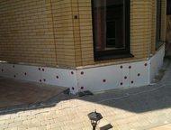 Выполняем работы по утеплению и отделке цоколя дома Выполним утепление цоколя, декоративную отделку штукатуркой, клинкерной плиткой, мраморной крошкой, Ростов-На-Дону - Ремонт, отделка (услуги)