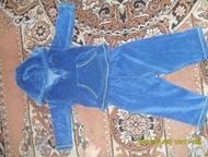 Продам костюм на мальчика Продам велюровый костюм на мальчика 1-2 года в отличном состоянии (цвет синий)с капюшоном, Рубцовск - Детская одежда