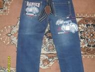 Рубцовск: Продам джинсы Джинсы на мальчика в отличном состоянии на подтяжках размер 19. Длина по внутреннему шву 42 см.