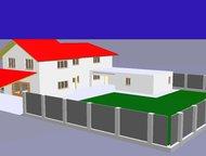 Самара: Продам коттедж 200м на участке 7сот. Продам дом  2-этажный дом 158 м? (пеноблоки) на участке 7 сот. , 1 км до города  Просторный коттедж 160 кв. м + г