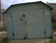 Продаю Гараж 3, 5 на 5 метров , высота2, 5, металлический (разборный) на вывоз. Находится в Солнечном , район Топальчанского рынка., Саратов - Гаражи, стоянки