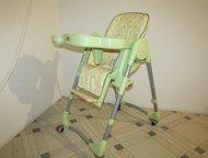 Тольятти: Стульчик для кормления Продам стульчик для кормления, трансформер, б/у, в хорошем состоянии, цвет салатовый, 2000 руб.