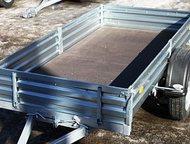 Прицеп Универсальный, модель МЗСА 817701, 001-05 Прицеп назван Универсальным, т. к. размеры кузова позволяют качественно перевозить на нём как небол, Ульяновск - Легковой прицеп