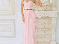 Волгоград: платье для подружки невесты Модель прямого силуэта изготовлена из шифона и атласа. Корсет мелко задрапирован , плечи покрывает стрейч сетка расшитая п