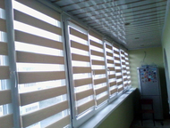 Волгоград: Рулонные шторы зебра Предлагаем рулонные шторы зебра. Известны так же как шторы «день-ночь».   От классических рулонных штор отличаются возможностью н