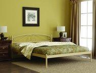 Кровать Оптима в Златоусте Кровать Оптима - металлическая кровать, выполненная в классическом стиле.   Кровать прекрасно впишется в интерьер спальни. , Златоуст - Мебель для спальни